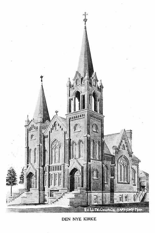 Greenfield Lutheran Church - Harmony, MN